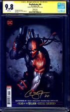 Deathstroke #49 VARIANT CGC SS 9.8 signed Christopher Priest NM/MT ARROW CW