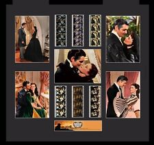 Film Cell Genuine 35mm Framed & Matted Gone With The Wind Mixed Montage USFC5886