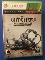 The Witcher 2 Assassins of Kings Enhanced Silver Box Edition - Xbox 360 Complete