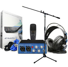 Presonus AudioBox 96 Studio Recording Set + Microphone Support