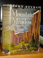 1941 Mountain Meadow, John Buchan, Espionage Novel New York to Quebec Wilderness