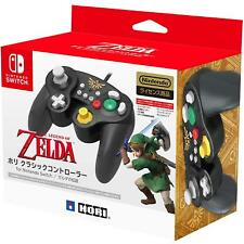 <NEW> Hori Controller For Nintendo Switch Game Cube GC Style ZELDA LINK Version