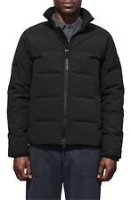 Canada Goose Woolford Slim Fit Down Bomber Jacket Men's Black Puffer Size Small