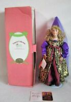 Princess And The Pea Paradise Galleries Treasury Collection Porcelain Doll COA