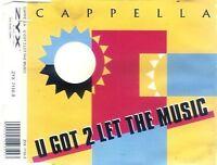 Cappella U got 2 let the music (1993, #zyx7110) [Maxi-CD]