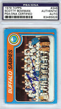 Scotty Bowman Autographed Signed 1979 Topps Card #246 Sabres PSA/DNA 83465628
