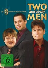 TWO AND A HALF MEN, Mein cooler Onkel Charlie, Staffel 6 (4 DVDs) NEU+OVP