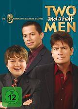 TWO AND A HALF MEN, Mein cooler Onkel Charlie, Staffel 6 (4 DVDs) NEU+OVP