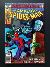 AMAZING SPIDER-MAN #181 MARVEL COMICS 1978 FN+ NEWSSTAND EDITION