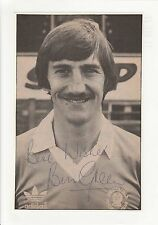 BILL GREEN CHESTERFIELD 1979-1983 ORIGINAL HAND SIGNED PICTURE CUTTING