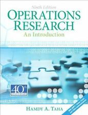 Operations Research: An Introduction 9e Int'l Edition