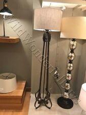 "Pottery Barn Madeline Floor Lamp Antique Bronze 66"" Light Romantic Nib"