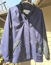 DryJoys by FJ Footjoy Women's Golf Rain Jacket Windbreaker Small Full Zip, Snap