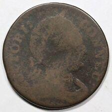 1786 M 3-D.1 R-5+ Scholar's Head Connecticut Colonial Copper Coin