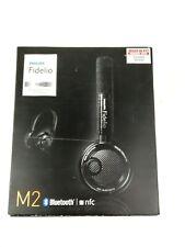 Philips Fidelio M2BT Wireless Bluetooth Headphones Black High Fidelity Sound
