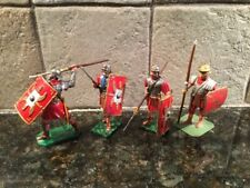 Toy Soldiers 4 Metal 54mm Roman Empire Legionaries