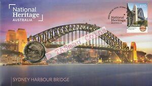 """PNC Australia 2021 Sydney Harbour Bridge National Heritage RAM $1 """"S"""" Coin"""