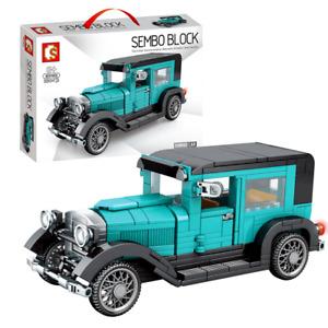 Sembo 607401 Famous Classic Vintage Car interlocking Building Blocks Set 330+pcs