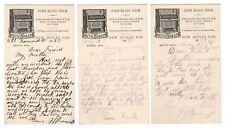 3 Postcard Trade Cards From The Smith Organ Co Boston Ma Antique Organ