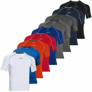 Under Armour 1257468 UA HeatGear Armour Tee Compression Short Sleeve T-Shirt