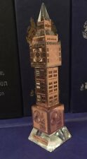 London Big Ben Tower Bronze Plated Crystal with changing lights Souvenir Gift