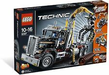 NEW Sealed Retired Lego Technic 9397 Logging Truck Tractor Building Play Set