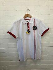 Le Tour De France Men's Logo Polo Shirt - Small - White - New