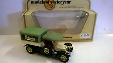 MATCHBOX 1:47 AUTO DIE CAST CROSSLEY 1918 GRIGIO CHIARO VERDE ART  Y-13  Y13
