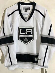 Reebok Women's Premier NHL Jersey Los Angeles Kings Team White sz L