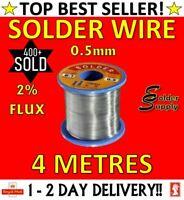 Solder Wire Fluxed Core Soldering 4M 0.5mm ***BEST BUY - TOP SELLER***