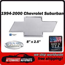 94-00 Chevrolet Suburban Polished Aluminum Bowtie Grille Emblem AMI 96017P
