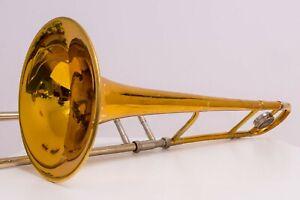 King 3b Concert Jazz Tenorposaune 1977 Trombone Tromba Goldlack