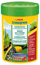 Sera Granugreen a granel 60g comida alimento 60 G Ciclido africanos granos peces