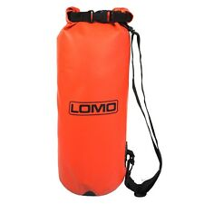 Lomo 12L Drybag - Red Heavy Duty Roll-Top Dry Bag with Shoulder Strap