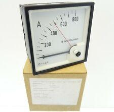 Drehspulinstrument DEIF DQ96 Amperemeter 916301 Strommesser 0-800A 600008665.290