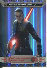 Star Wars Chrome Perspectives Refractor Parallel Base #17R Galen Marek