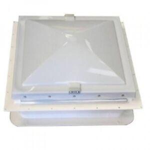 """Static Caravan Elixir Opening Rooflight/Vent Roof Light skylight 14"""" x 14"""""""
