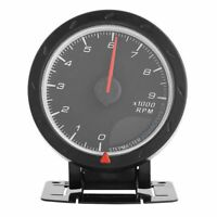 1X(9000 RPM 3.15inch LED Tachometer, Rev Counter Universal Digital Rotation 7F5)
