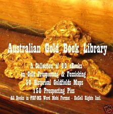 CD - Australian Gold Library - 60 eBooks + Pics & Some Maps
