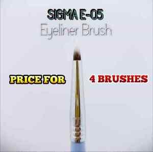 SIGMA BEAUTY E05 EYELINER BRUSH SET OF 4 100% AUTHENTIC