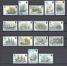 FALKLAND ISLANDS 1989 SG 567/82 MNH Cat £75