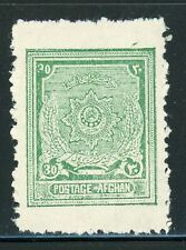Afghanistan MH Selections: Scott #236F 30p Deep Green (1929) $$