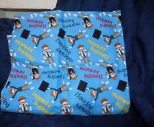 Cotton Flannel Fabric- MONKEY BUSINESS 2/3 YARD