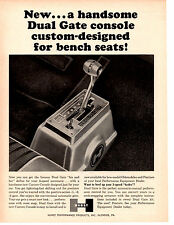 1964 HURST DUAL GATE SHIFTER - HIS N' HERS  ~  ORIGINAL PRINT AD