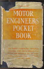 Motor Engineers Pocket Book Trouble Tracing & Data cars commercials tractors 4th