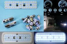 Jeep YJ Wrangler White LED Conversion Light Package, Gauge Dash Interior Reverse