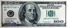 USA 100 Dollar $ Banknote Series 1996 uncirculated für Sammler