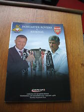 Doncaster Rovers v Arsenal League Cup 21-12-2005