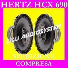 "HERTZ Coppia  COASSIALI HCX 690 HCX690 6X9"" 260 W NUOVI Italia"