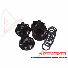 Answer-RC Lightweight Locking Wheel Nut 1.25mm (4) - Black ANSWN0125-B